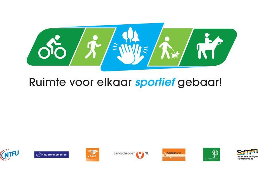 Sportbonden en natuurorganisaties starten Buitencode
