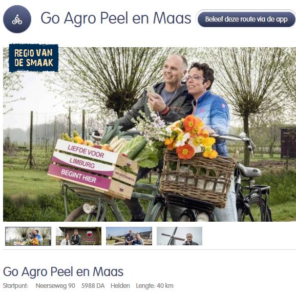 Opening belevingsroute Go Agro route Peel en Maas