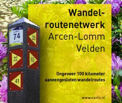 Wandelkaart Arcen - Lomm - Velden beschikbaar